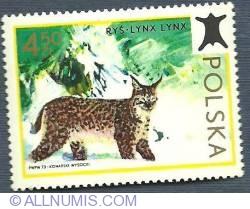 Image #1 of 4,50 Złote 1973 - Lynx (Lynx Lynx)