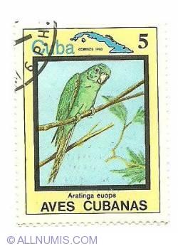 Image #1 of 5 centavos 1983 - Aratinga euops