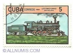 Image #1 of 5 centavos 1984 - locomotoras antiguas