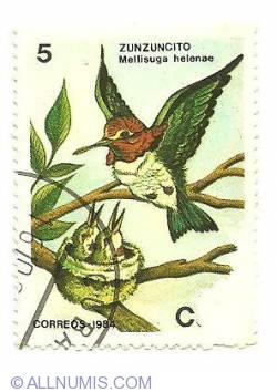 Image #1 of 5 centavos 1984 - Zunzuncito