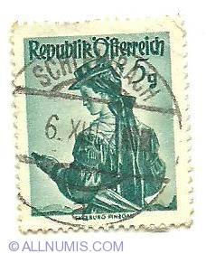 Image #1 of 5 Groschen Salzburg Pingau 1949