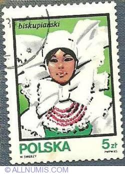 5 Zloty - Traditional Hats - Biskupianski