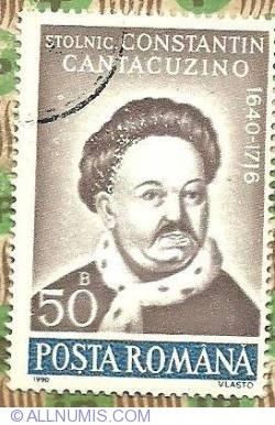 Imaginea #1 a 50 Bani 1990 - Stolnic Constantin Cantacuzino (1640-1716)