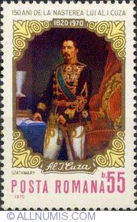 55 Bani - Portretul Domnitorului - Carol Popp de Szatmary