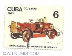 Image #1 of 6 centavos 1977 - Semana Nacional De Prevencion De Incendios