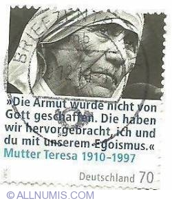Image #1 of 70 eurocent-Mother Teresa-2010