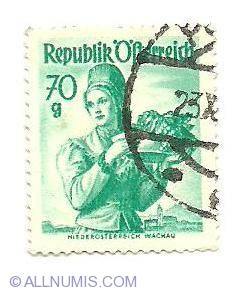 Image #1 of 70 Groschen Lower Austria Wachau 1949