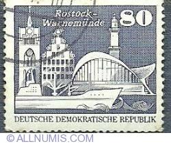 80 pfennig - Warnemünde Rostock