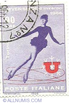 Image #1 of 90 Lire-Figure skating-1966