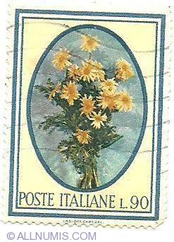 Image #1 of 90 lire - Flower's