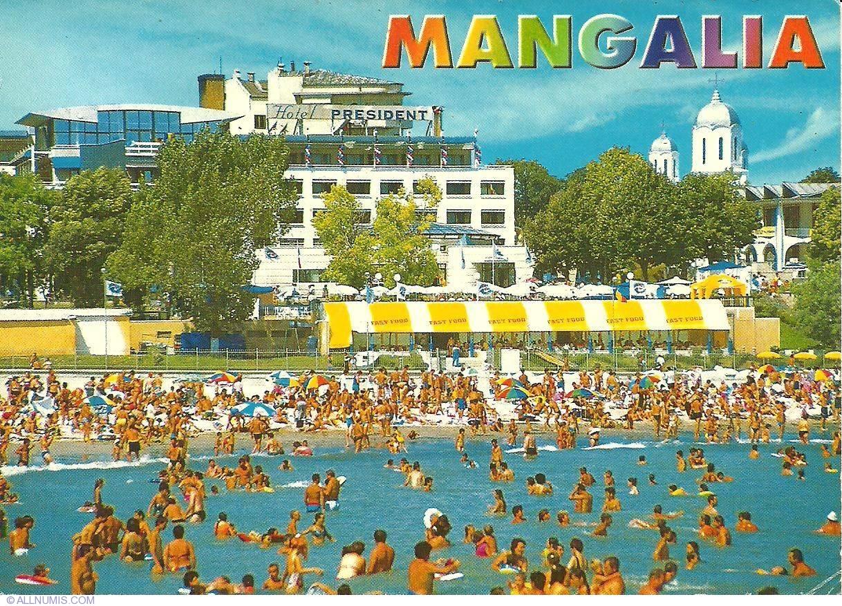 Mangalia Hotel Prezident Mangalia Romania Postcard