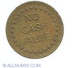 No Cash Value Freedom Business Tokens United States Of