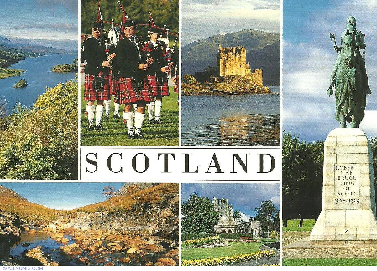 How Can You Buy Bitcoins >> Robert The Bruce, Scotland-tourist - Great Britain and UK - Postcard - 1947