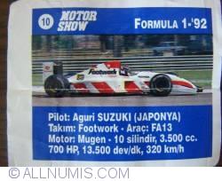 Image #1 of 10 - Auguri Suzuki - Footwork