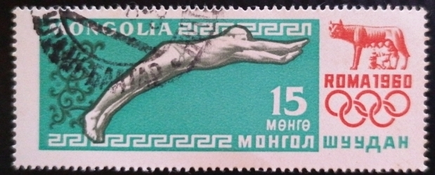 15 Mongo 1960 - Olympic Games of the Roman 1960