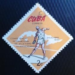Image #1 of 2 Centavo 1965 - Competiție atletică, Havana - Disc