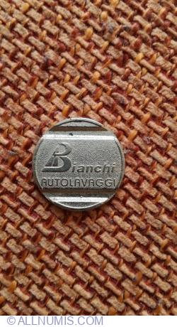 Jeton Autolavaggio Bianchi