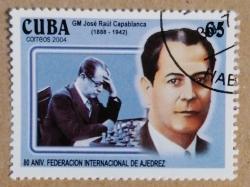 Image #1 of 65 Centavos - Jose Raul Capablanca