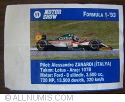 Image #1 of 11 - Alessandro Zanardi - Lotus
