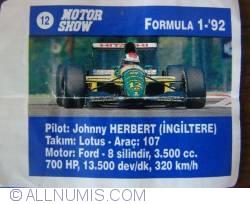 Image #1 of 12 - Johnny Herbert - Lotus