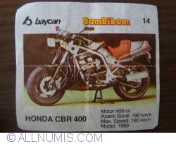 14 - Honda CBR 400
