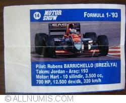Image #1 of 14 - Rubens Barrichello - Jordan