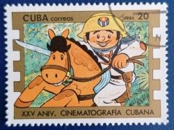 Image #1 of 20 Centavos 1984 - Aniversarea a 25 de ani de cinematografie cubaneza