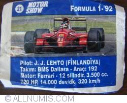 21 - J J Letho - BMS Dallara