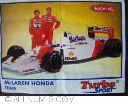 21 - McLaren Honda team