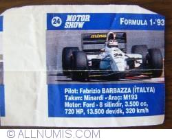 Image #1 of 24 - Fabrizio Barbazza - Minardi