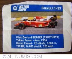Image #1 of 28 - Gerhard Berger - Ferrari