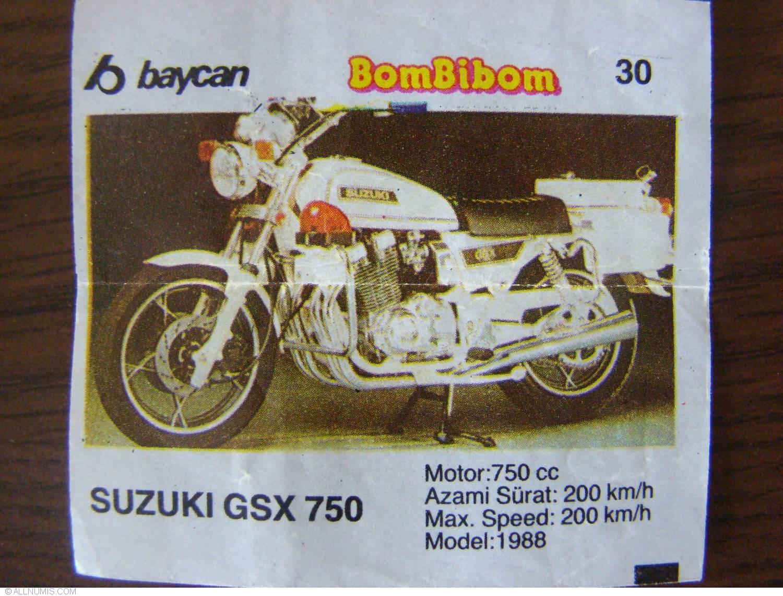 30 Suzuki Gsx 750 Second Serie 1 90 Bombibom Chewing Gum