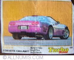 335  - Chevy Corvette Callawy