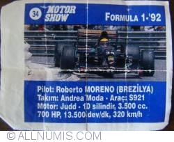 34 - Roberto Moreno - Andrea Moda