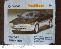 39 - Toyota Sprinter