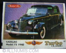 62 - Cadillac model 75 1940