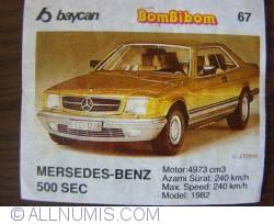 67 - Mercedes Benz 500SEC