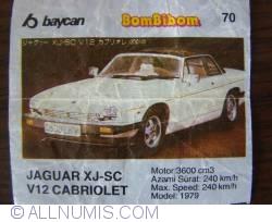 70 - Jaguar XJ-SC V12 Cabriolet