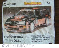 72 - Ford Sierra RS 500 Ozel