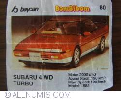 80 - Subaru 4WD Turbo