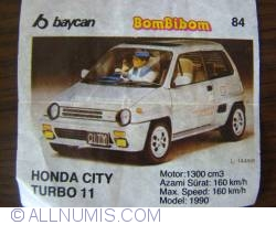 84 - Honda City Turbo 11