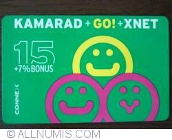 Image #1 of CONNEX - KAMARAD+GO!+XNET - 15$+7% BONUS