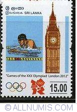 15Rs 2012 -  Games of the XXX Olympiad London-swimmer