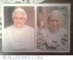 Image #1 of Pope Benedict XVI & John Paul II