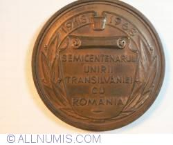 Image #1 of Union of Transylvania with Romania 50th anniversary