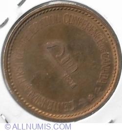 Imaginea #2 a Charlottetowne Confederation Medal
