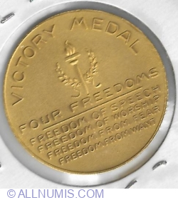 Four freedoms Victory Medal