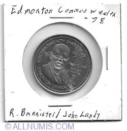 Edmonton Commonwealth Games 1978 medal-Miracle Mile
