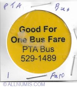 Image #1 of 1 BUS fare