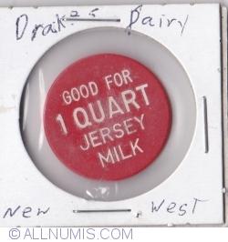 Imaginea #1 a 1 quart jersey milk